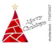 merry christmas background | Shutterstock .eps vector #771072427