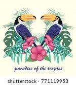 vector illustration with... | Shutterstock .eps vector #771119953
