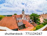 top view of of charming little... | Shutterstock . vector #771124267
