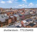 downtown york  pennsylvania off ... | Shutterstock . vector #771156403