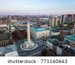 aerial of mount vernon place in ... | Shutterstock . vector #771160663