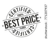 best price quality original... | Shutterstock .eps vector #771207937