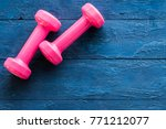 Fitness Objects Isolated On...