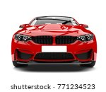 crimson red modern sport racing ... | Shutterstock . vector #771234523