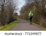 outdoor fitness exercise at... | Shutterstock . vector #771249877