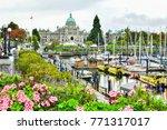 vancouver   october 7 2017 ...   Shutterstock . vector #771317017