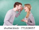 bad relationship and divorce.... | Shutterstock . vector #771328057