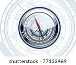 compass | Shutterstock .eps vector #77133469