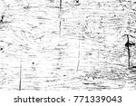grunge black and white pattern. ... | Shutterstock . vector #771339043