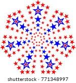 star design raster illustration | Shutterstock . vector #771348997
