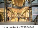 london  december  2017 ... | Shutterstock . vector #771354247
