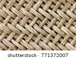 Small photo of Weave texture or weave pattern background in macro style. Weaves pattern classic retro background for design.
