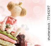 Princess Doll With Textile And...