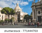 catania  italy   november 28 ... | Shutterstock . vector #771444703