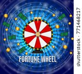 wheel of fortune  lucky icon... | Shutterstock .eps vector #771468217