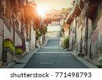 traditional korean style...   Shutterstock . vector #771498793
