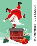 vector cartoon illustration of... | Shutterstock .eps vector #771522307