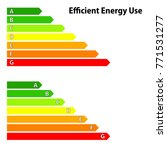 energy efficiency  energy class   Shutterstock .eps vector #771531277
