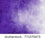 ultra violet abstract hand... | Shutterstock . vector #771570673