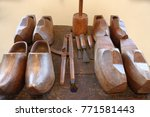This Is A Photo Of Wooden Shoe...