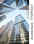 looking up at manhattan...   Shutterstock . vector #771597217