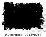 set of rectangular text box.... | Shutterstock .eps vector #771598357