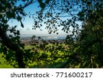 a view of culver cliff on the... | Shutterstock . vector #771600217