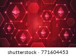 modern ultra hd crypto currency ... | Shutterstock .eps vector #771604453