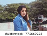 fashion woman.    Shutterstock . vector #771660223