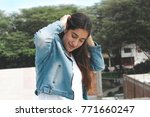 fashion woman.    Shutterstock . vector #771660247