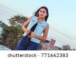 fashion woman.    Shutterstock . vector #771662383