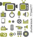 icons  signs  vector... | Shutterstock .eps vector #77166277