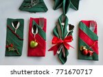 fancy red and green color... | Shutterstock . vector #771670717