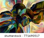 stained glass forever series.... | Shutterstock . vector #771690517