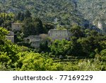 france  the village of oppede... | Shutterstock . vector #77169229