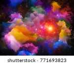 universe is not enough series.... | Shutterstock . vector #771693823