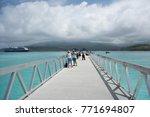 mystery island vanuatu pacific... | Shutterstock . vector #771694807