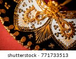 closeup photo of details of... | Shutterstock . vector #771733513