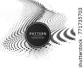 modern halftone background | Shutterstock .eps vector #771735703