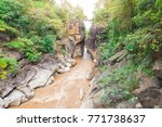 beautiful nature with large... | Shutterstock . vector #771738637
