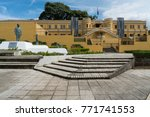 view of the outside of plaza de ... | Shutterstock . vector #771741553