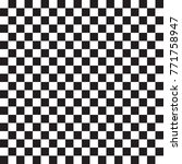 checkerboard woven seamless... | Shutterstock .eps vector #771758947