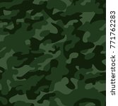 fashionable camouflage pattern  ... | Shutterstock .eps vector #771762283