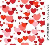 love semless pattern from...   Shutterstock .eps vector #771801733