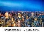 aerial view of midtown... | Shutterstock . vector #771835243