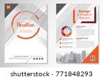 template vector design for... | Shutterstock .eps vector #771848293