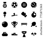origami style icon set   medal... | Shutterstock .eps vector #771871363