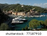 portofino panorama | Shutterstock . vector #77187910