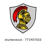 vector of knight helmet  could... | Shutterstock .eps vector #771907033