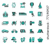 signs. vacation  travel  ... | Shutterstock .eps vector #77190937